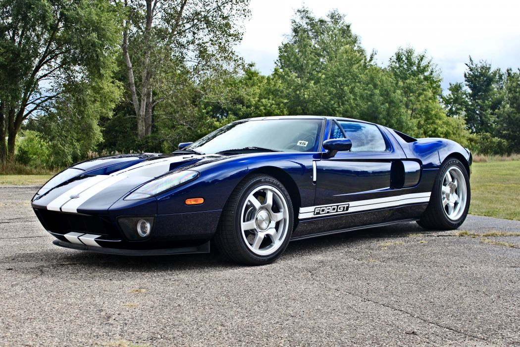 2005 Ford GT Supercar USA -01 wallpaper