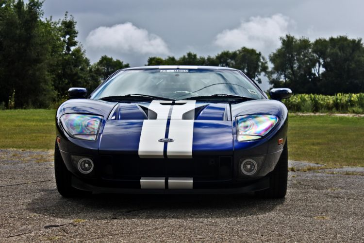 2005 Ford GT Supercar USA -07 wallpaper