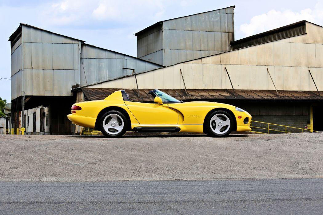 1994 Dodge Viper RT10 Roadster Muscle Supercar Old Original USA -06 wallpaper