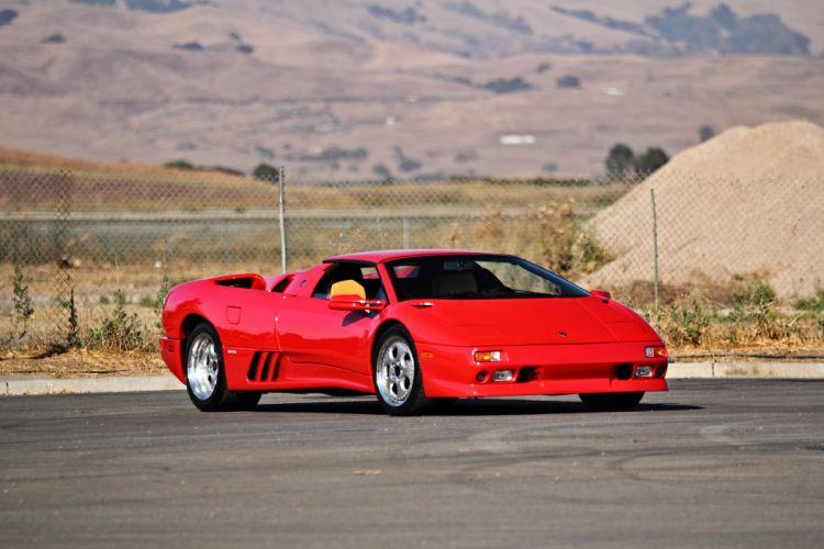 1997 Lamborghini Diablo VT Roadster Exotic Supar Car Italy -12 wallpaper