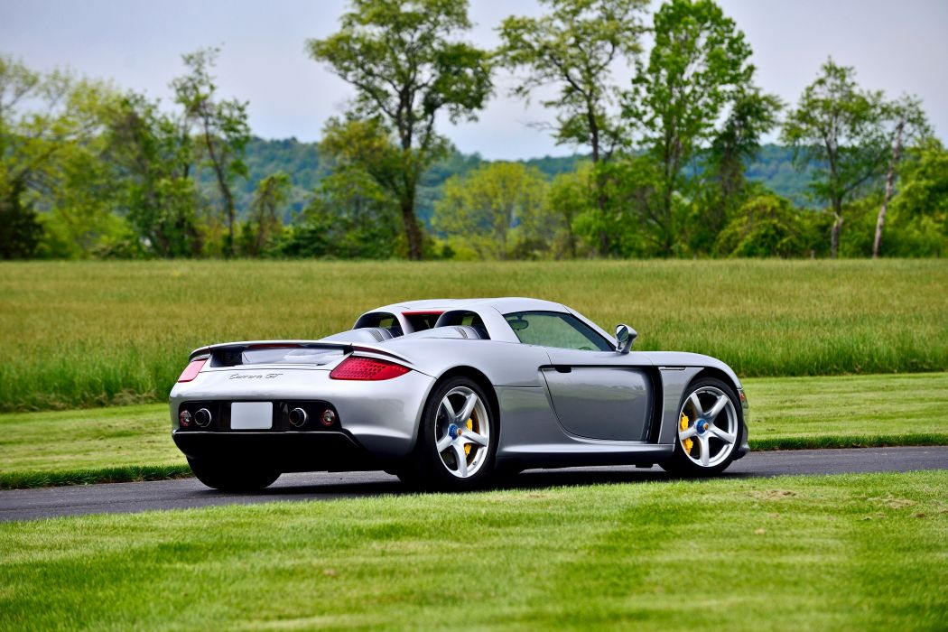 2004 Porsche Carrera GT Exotic Supercar German -03 wallpaper