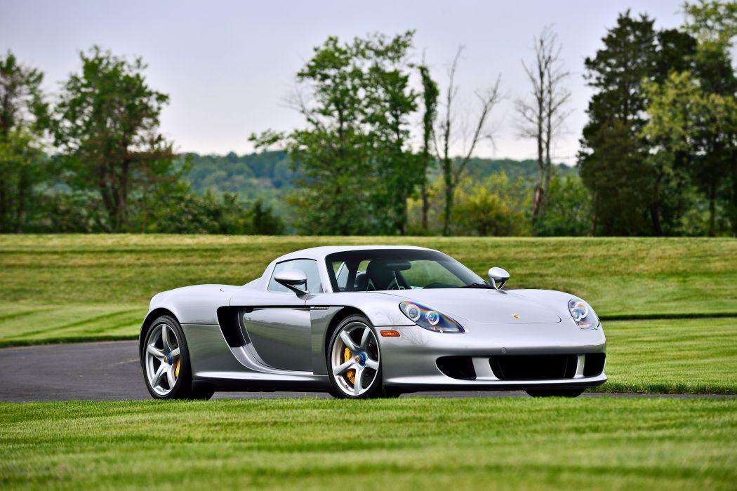 2004 Porsche Carrera GT Exotic Supercar German -12 wallpaper