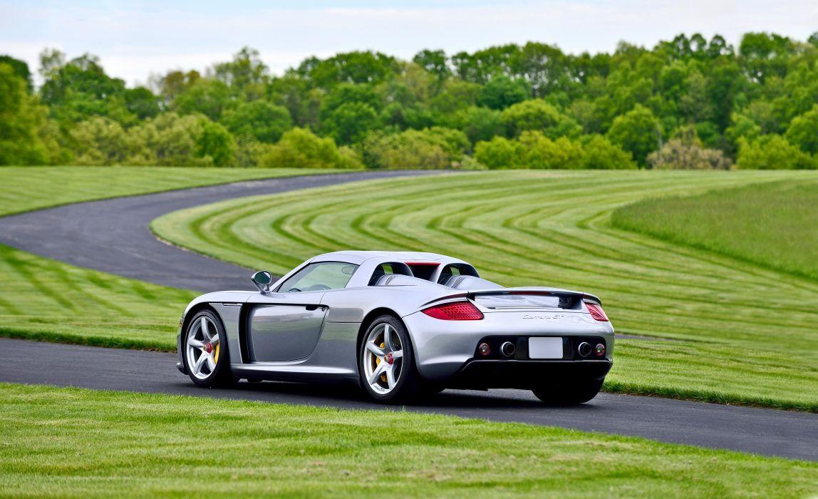 2004 Porsche Carrera GT Exotic Supercar German -11 wallpaper