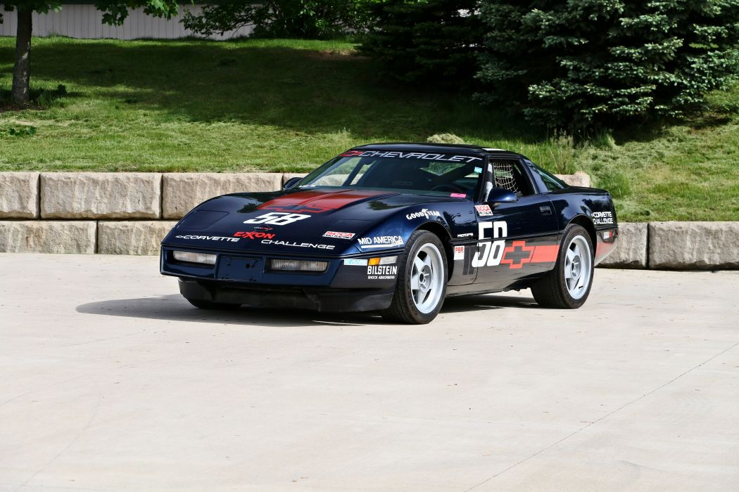 1988 Chevrolet Corvette Challenge Race Car Muscle Original USA -01 wallpaper