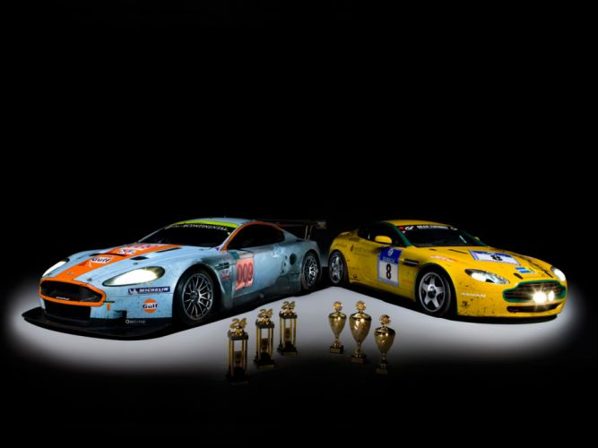 Aston Martin DB9 GT2 Race Car wallpaper