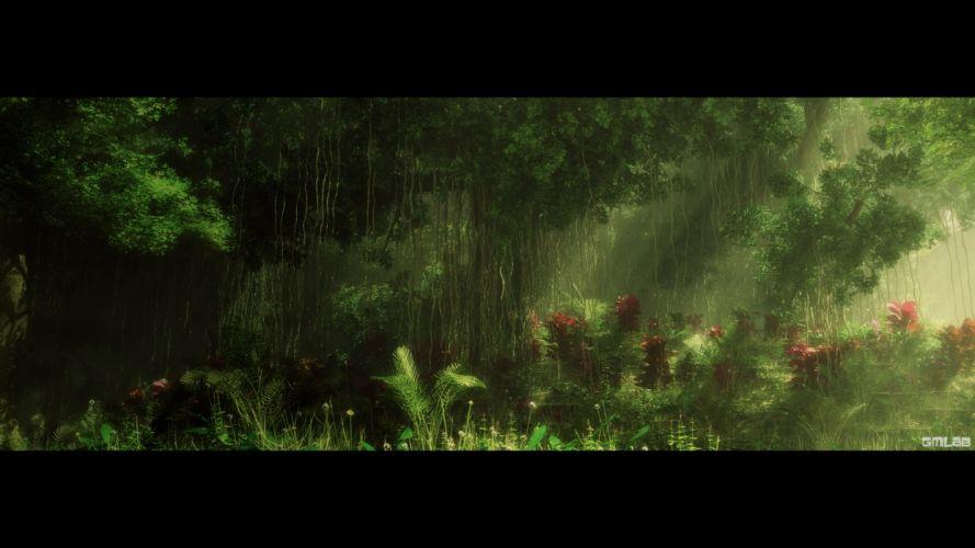 Deep Forest (1) wallpaper