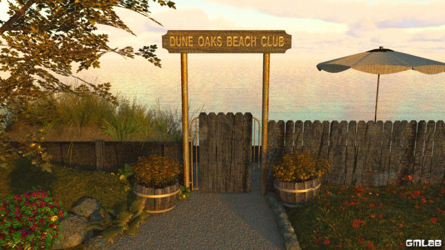 Dune Oaks Beach Club wallpaper