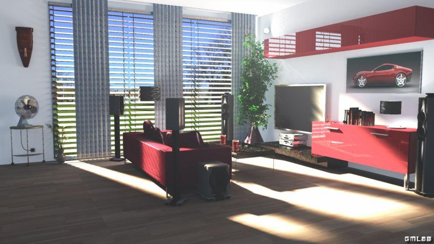 Lounge Living Room wallpaper