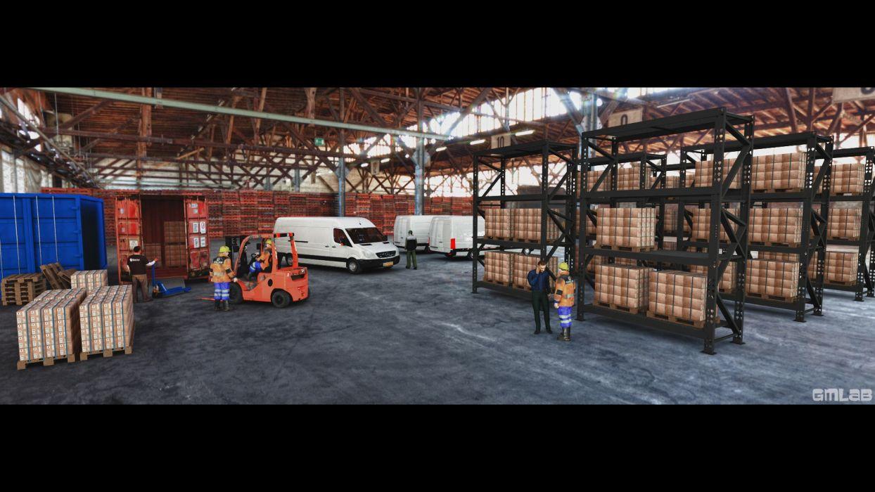 Warehouse wallpaper