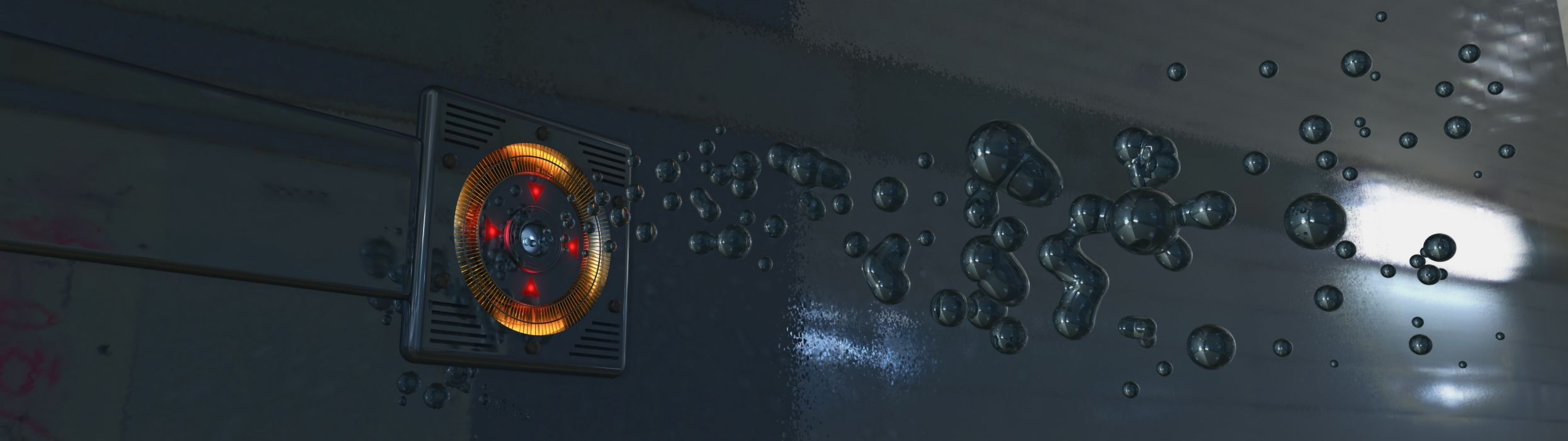 Liquid dispenser (3840x1080) wallpaper