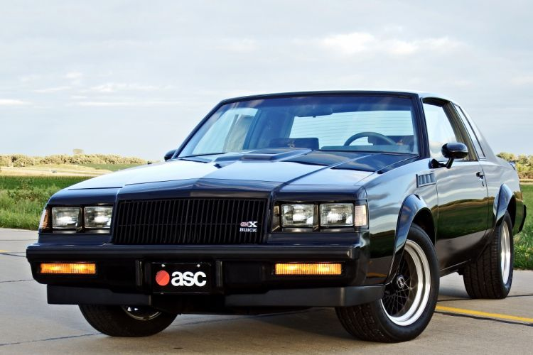 1987 Buick GNX Muscle Classic Old Original -01 wallpaper