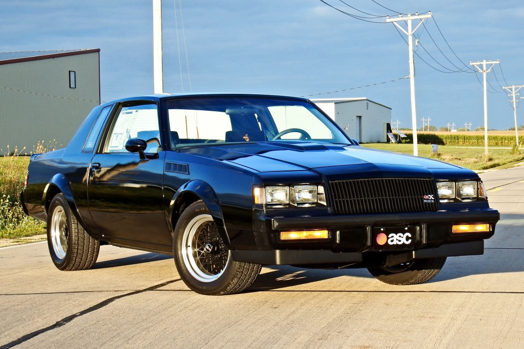 1987 Buick GNX Muscle Classic Old Original -05 wallpaper