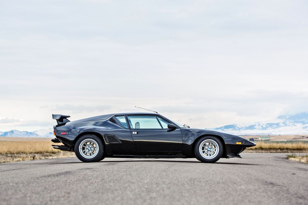 1987 DeTomaso Pantera GT5-S Classic Old Exotic Supercar Italy -02 wallpaper
