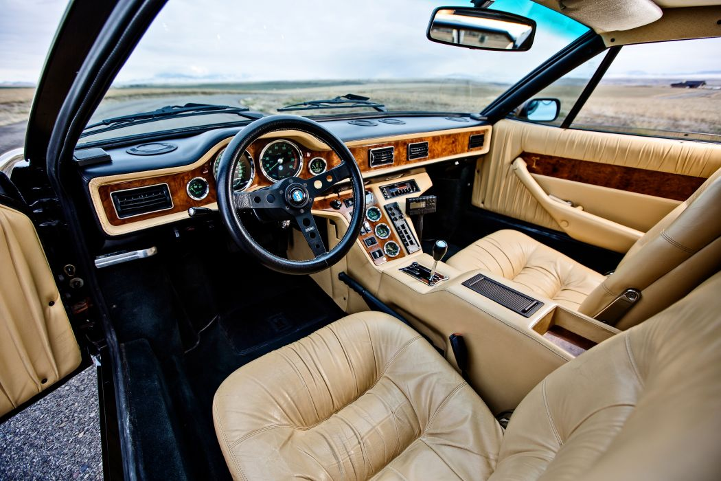 1987 DeTomaso Pantera GT5-S Classic Old Exotic Supercar Italy -05 wallpaper