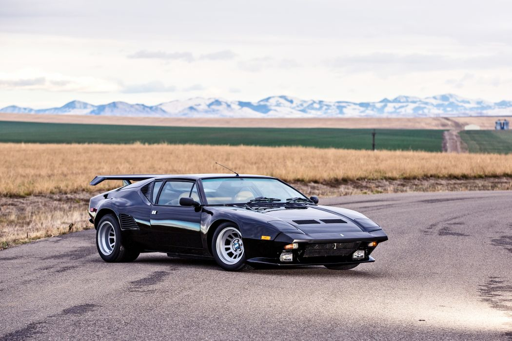 1987 DeTomaso Pantera GT5-S Classic Old Exotic Supercar Italy -07 wallpaper