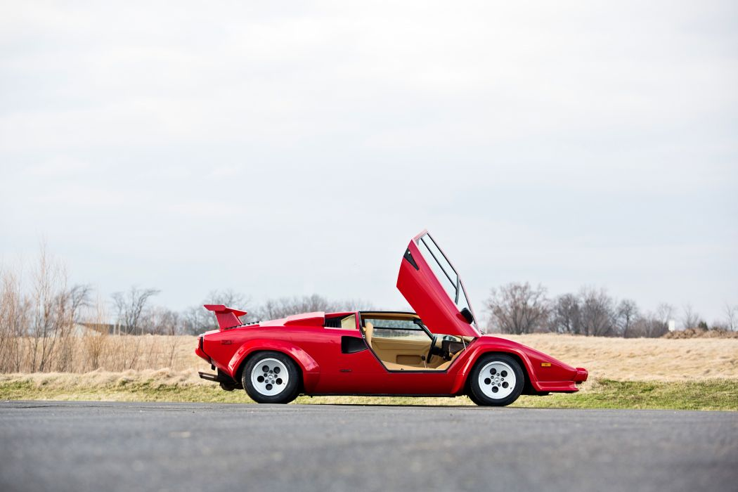 1986 Lamborghini Countach 5000 Quattrovalvole Exotic Classic Supercar Italy -02 wallpaper