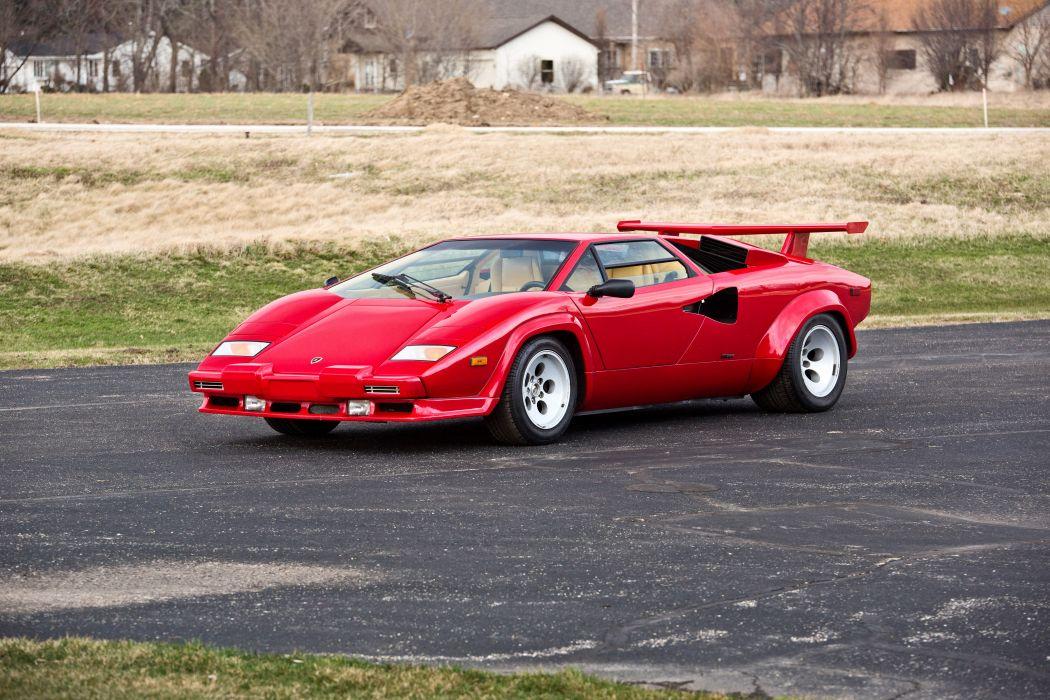1986 Lamborghini Countach 5000 Quattrovalvole Exotic Classic Supercar Italy -01 wallpaper