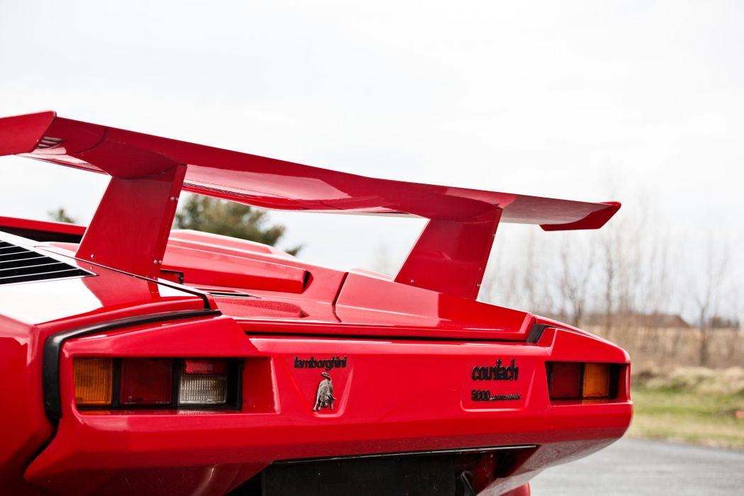 1986 Lamborghini Countach 5000 Quattrovalvole Exotic Classic Supercar Italy -09 wallpaper