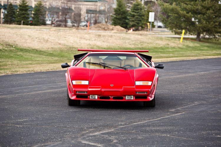 1986 Lamborghini Countach 5000 Quattrovalvole Exotic Classic Supercar Italy -11 wallpaper