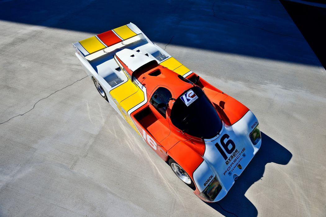 1986 Porsche 962 Sport Prototype Race Car German -11 wallpaper