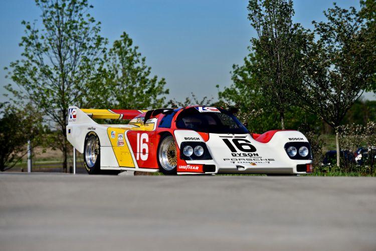 1986 Porsche 962 Sport Prototype Race Car German -12 wallpaper