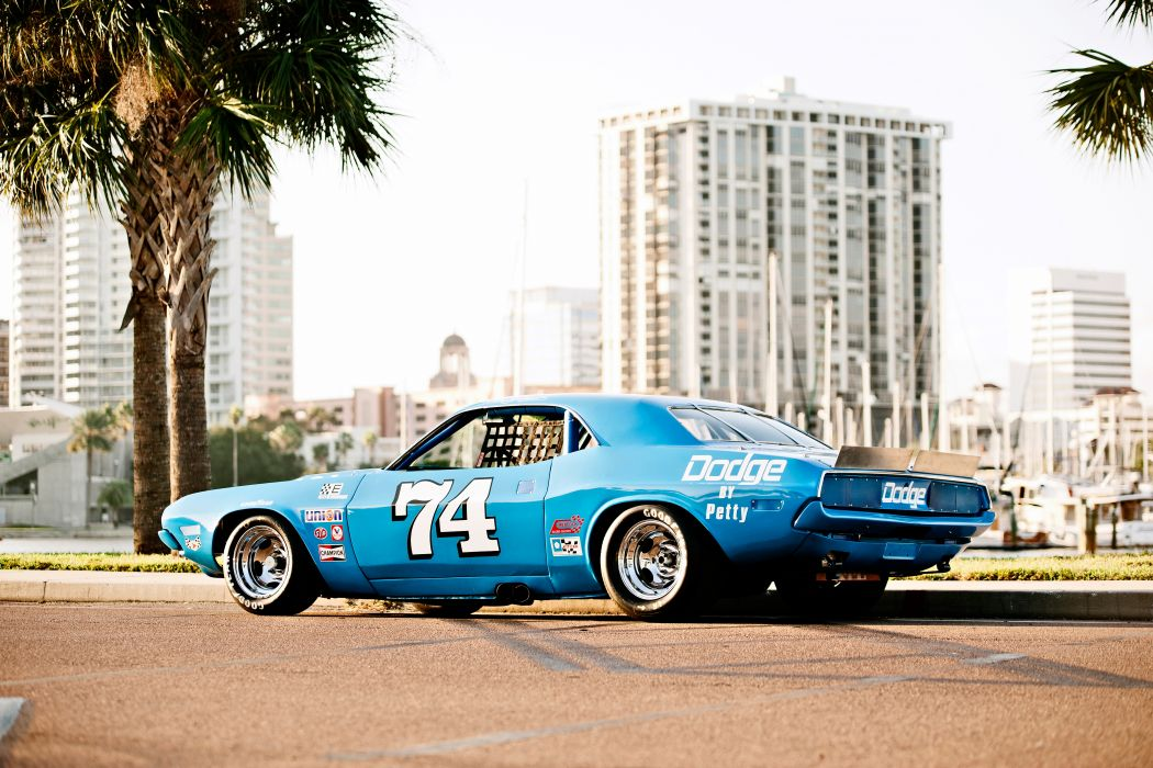 1973 Dodge Challenger NASCAR Race Car Old Classic USA -02 wallpaper