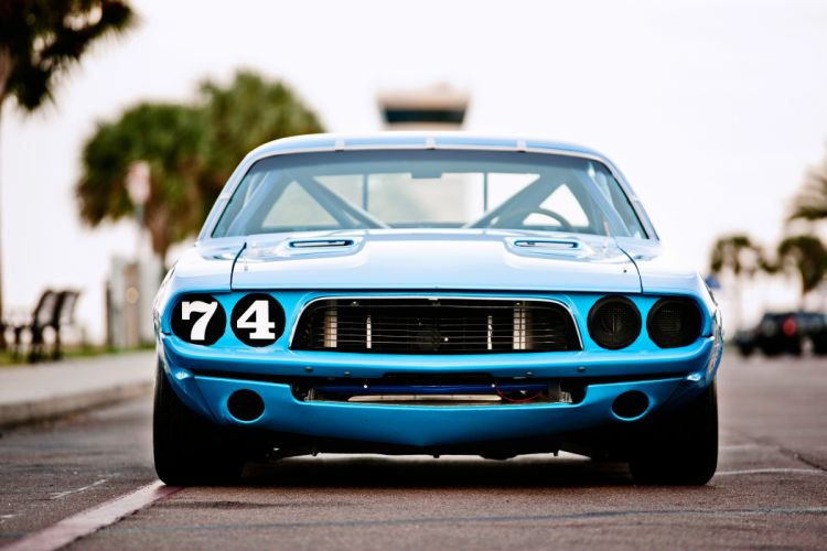 1973 Dodge Challenger NASCAR Race Car Old Classic USA -09 wallpaper