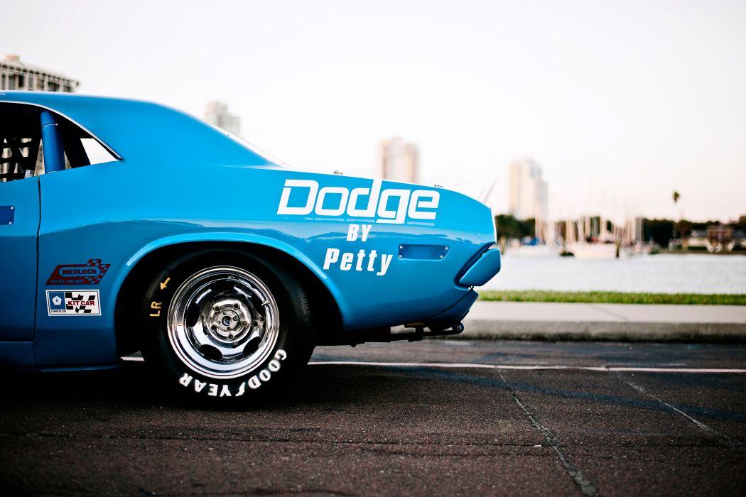 1973 Dodge Challenger NASCAR Race Car Old Classic USA -12 wallpaper