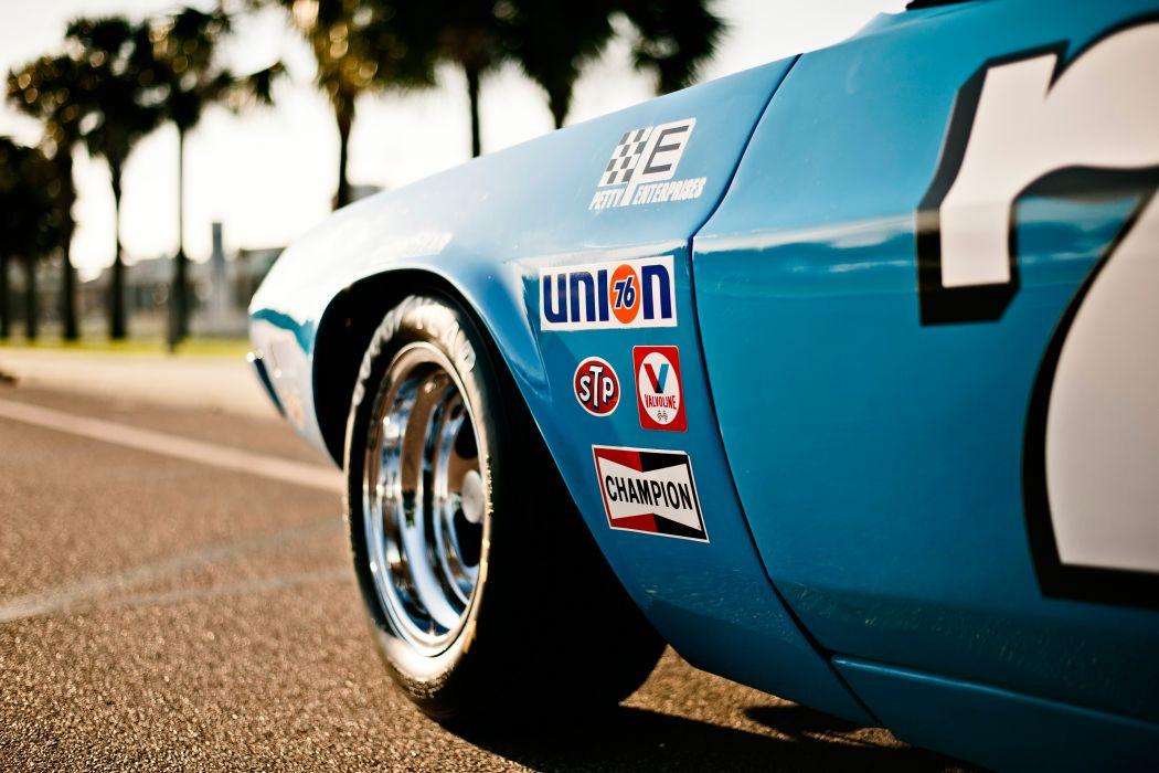 1973 Dodge Challenger NASCAR Race Car Old Classic USA -16 wallpaper