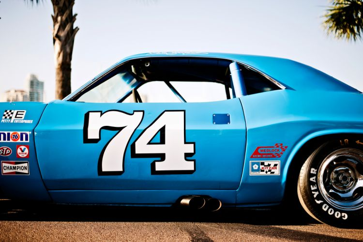 1973 Dodge Challenger NASCAR Race Car Old Classic USA -14 wallpaper