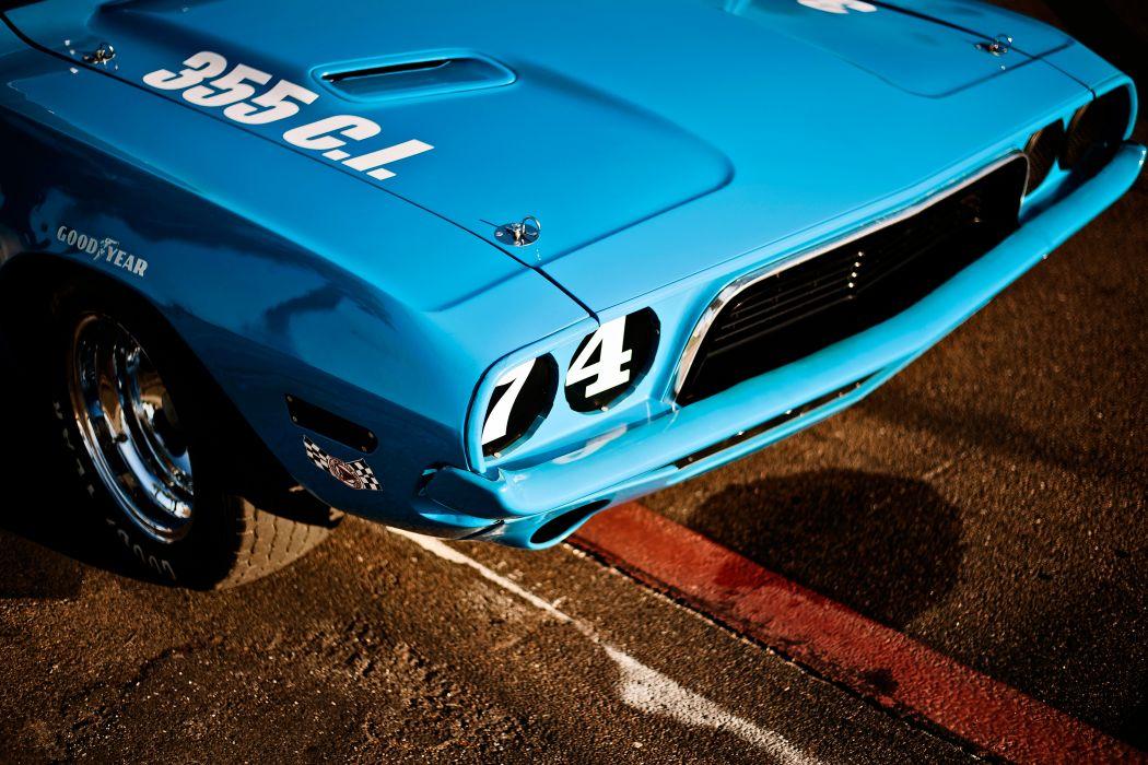 1973 Dodge Challenger NASCAR Race Car Old Classic USA -17 wallpaper