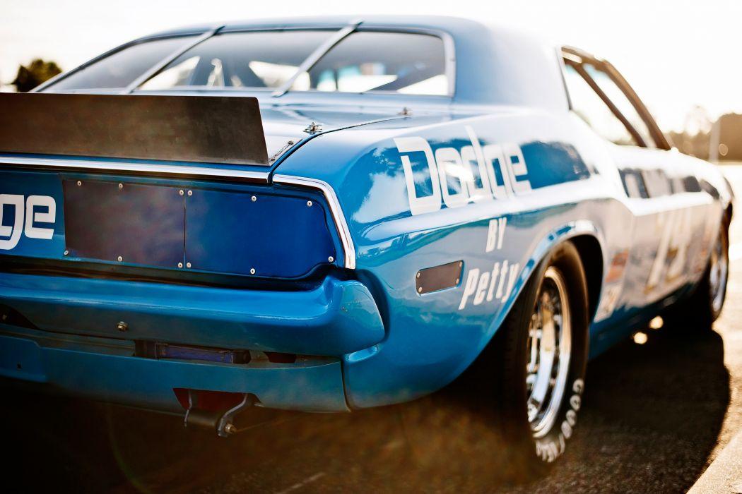 1973 Dodge Challenger NASCAR Race Car Old Classic USA -19 wallpaper