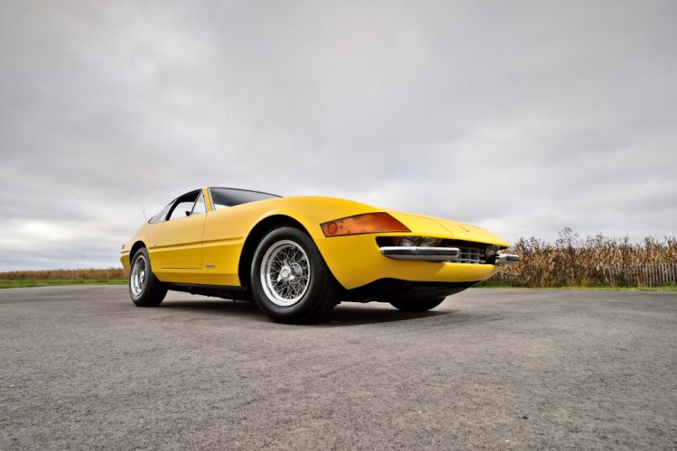 1973 Ferrari 365 GTB-4 Daytona Supercar Old Classic Exotic Italy -10 wallpaper