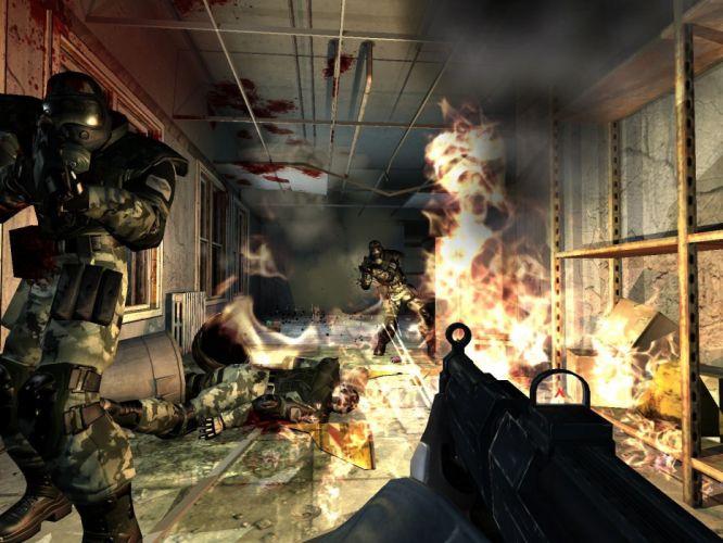 video juego belico accion wallpaper