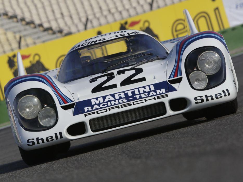 Porsche 917K Shark Fin Classic Race Car wallpaper