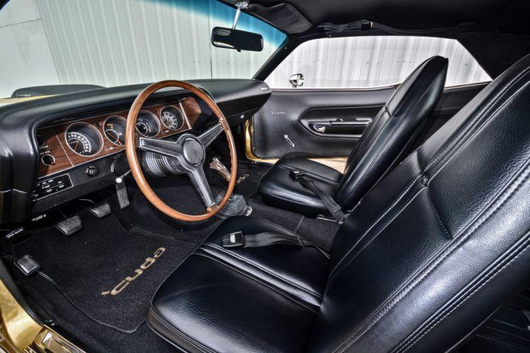 1971 Plymouth Cuda Hemi 440 Muscle Old Classic Original USA -04 wallpaper
