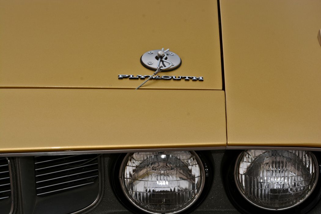 1971 Plymouth Cuda Hemi 440 Muscle Old Classic Original USA -17 wallpaper