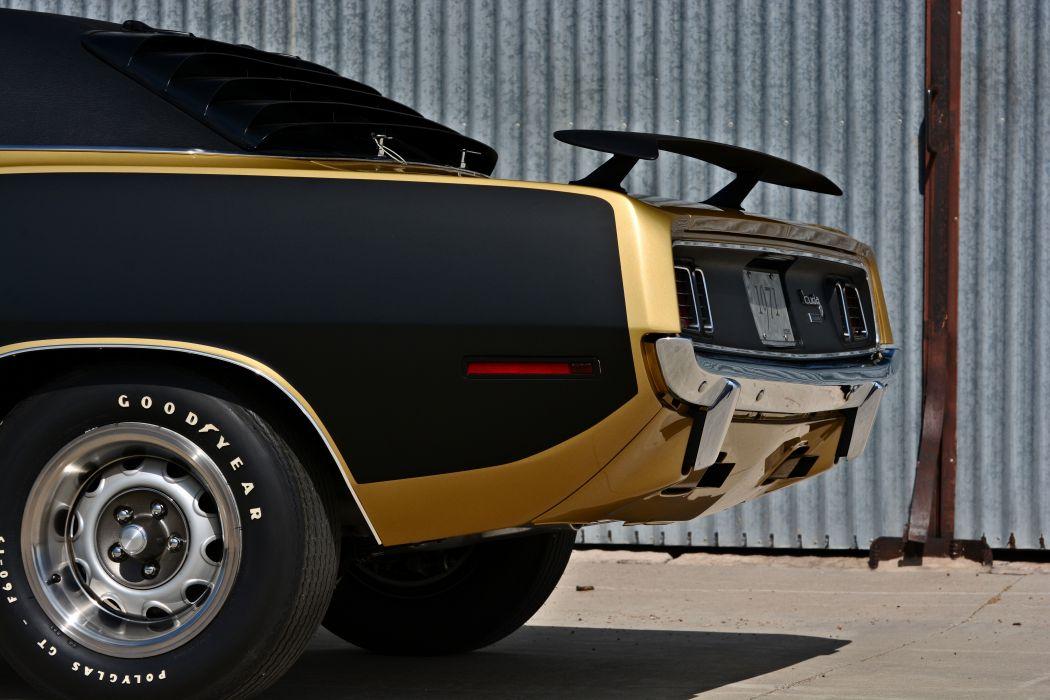 1971 Plymouth Cuda Hemi 440 Muscle Old Classic Original USA -19 wallpaper