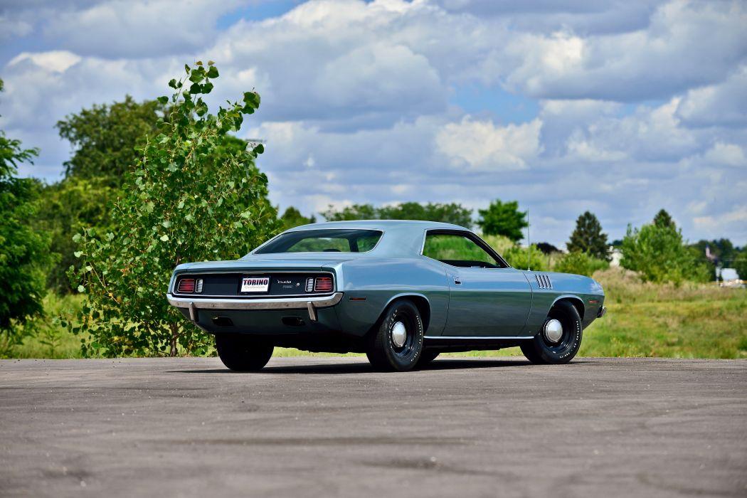 1971 Plymouth Hemi Cuda Muscle Old Classic USA -03 wallpaper