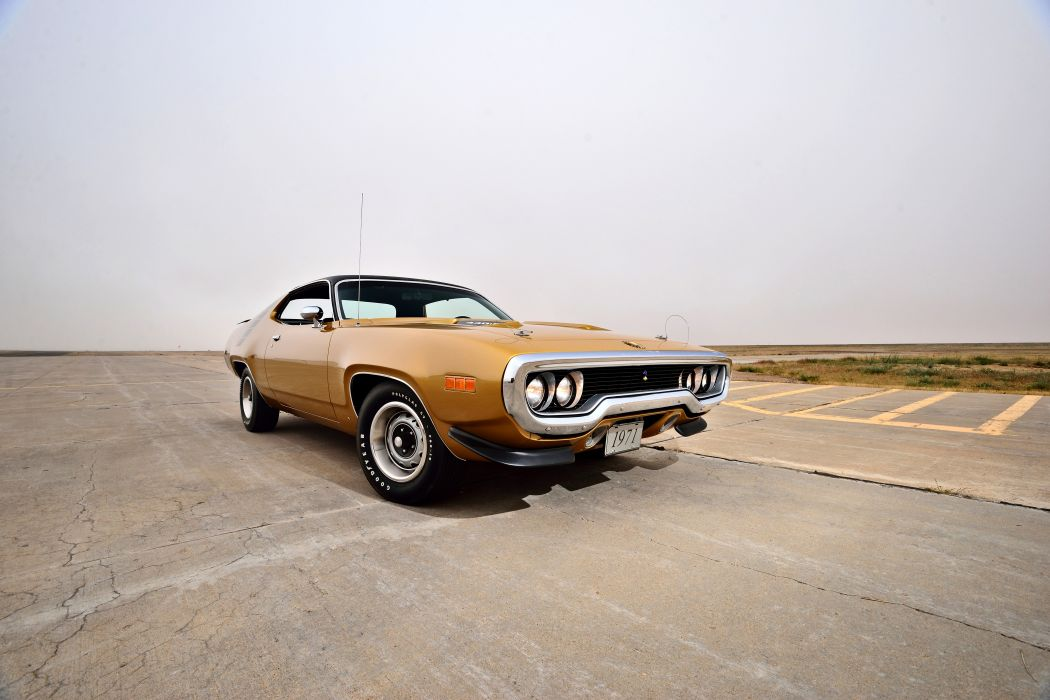 1971 Plymouth Road Runner Hemi 440 Muscle Old Classic Original USA -17 wallpaper