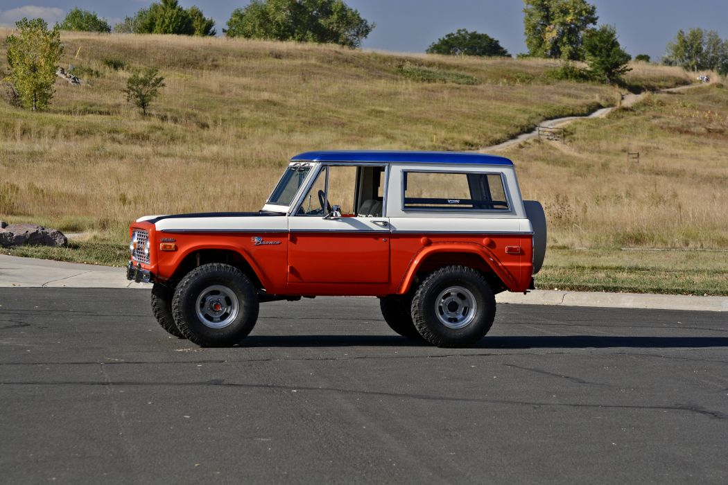 1971 Ford Bronco Stroppe Baja Edition Off Road Old Classic Original USA -02 wallpaper