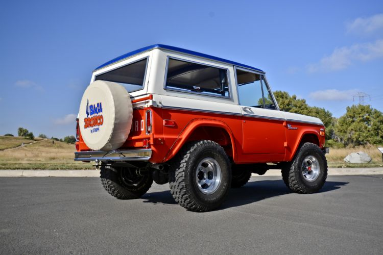 1971 Ford Bronco Stroppe Baja Edition Off Road Old Classic Original USA -03 wallpaper