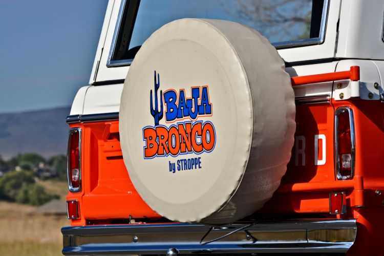 1971 Ford Bronco Stroppe Baja Edition Off Road Old Classic Original USA -08 wallpaper