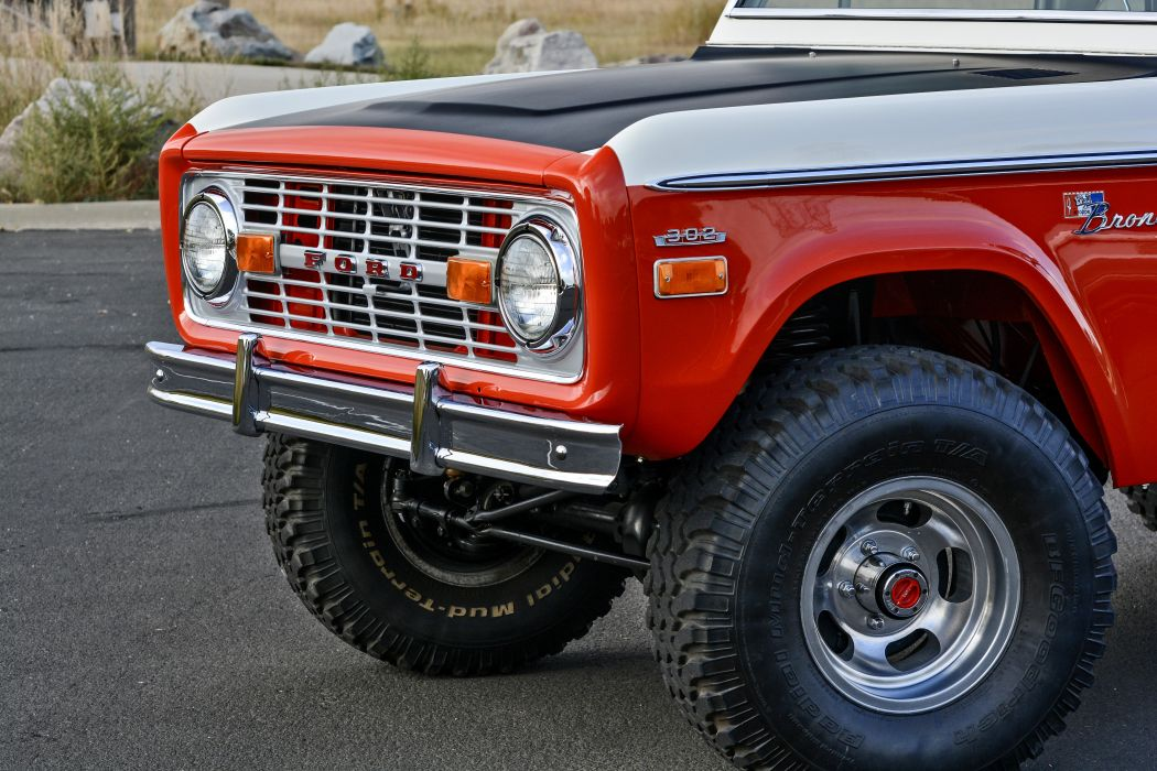 1971 Ford Bronco Stroppe Baja Edition Off Road Old Classic Original USA -06 wallpaper