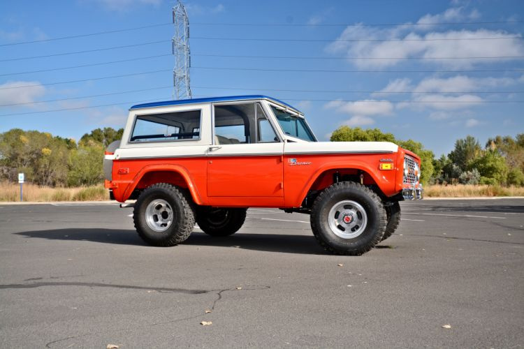 1971 Ford Bronco Stroppe Baja Edition Off Road Old Classic Original USA -12 wallpaper