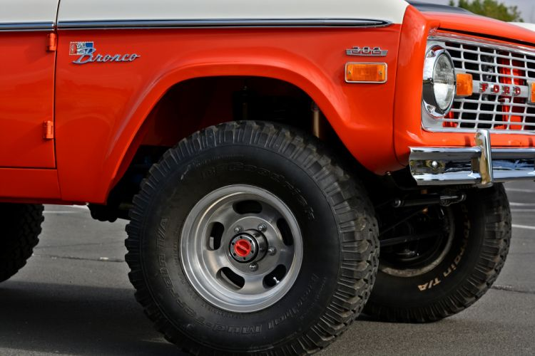 1971 Ford Bronco Stroppe Baja Edition Off Road Old Classic Original USA -13 wallpaper