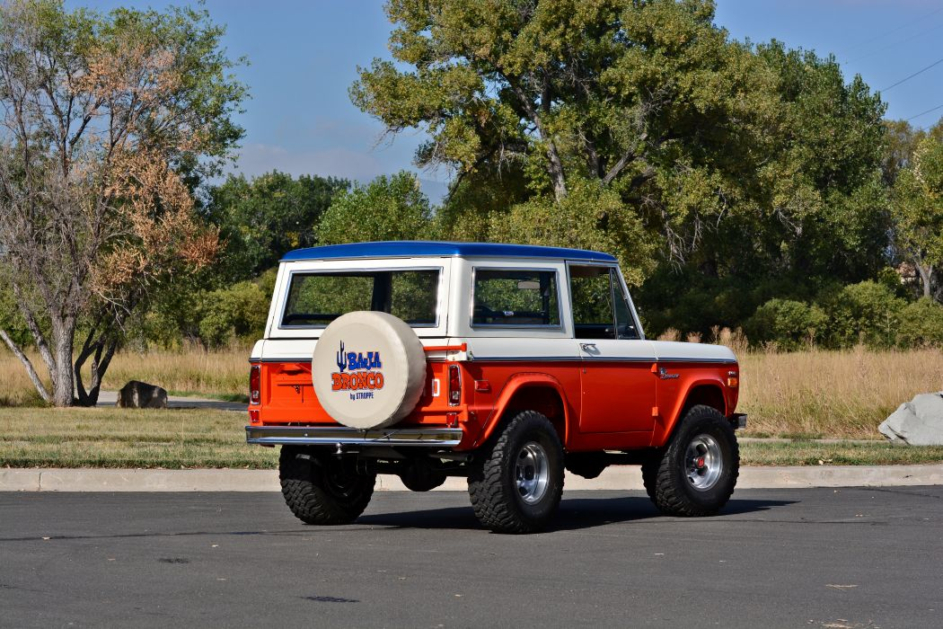 1971 Ford Bronco Stroppe Baja Edition Off Road Old Classic Original USA -16 wallpaper