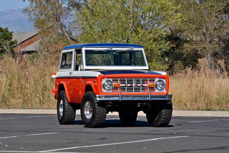 1971 Ford Bronco Stroppe Baja Edition Off Road Old Classic Original USA -18 wallpaper
