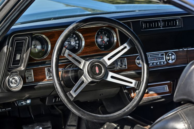1971 Oldsmobile Coupe 442 W-301 Muscle Old Classic Original USA -05 wallpaper