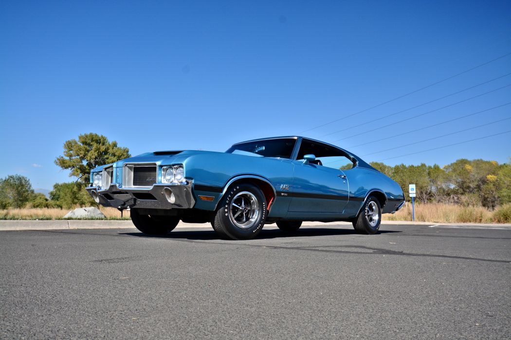 1971 Oldsmobile Coupe 442 W-301 Muscle Old Classic Original USA -10 wallpaper
